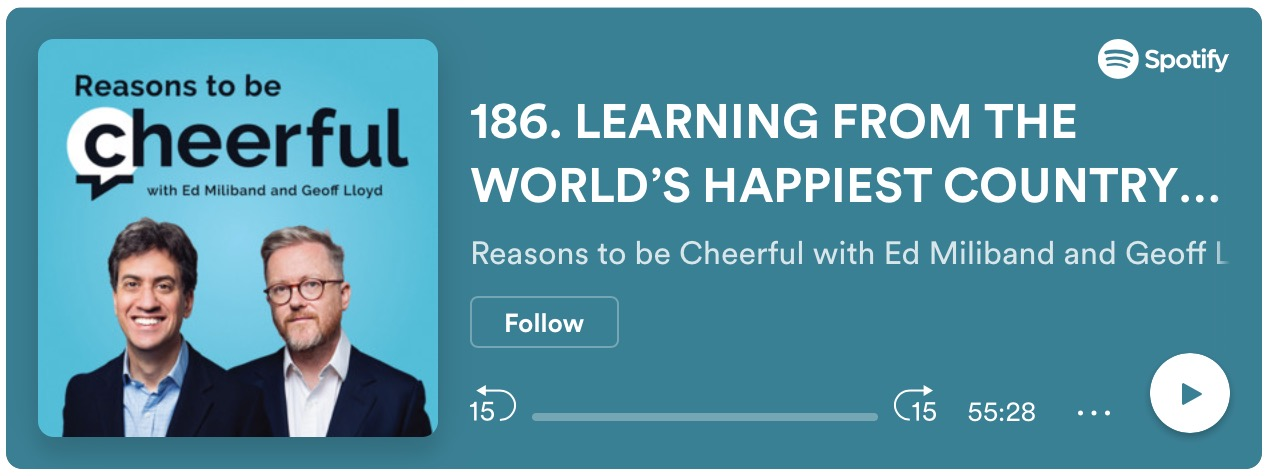 Reasons to be Cheerful podcast graphic